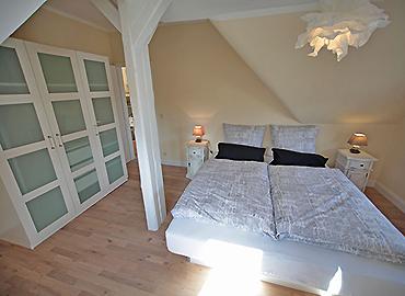 Das Schlafzimmer im Atelier