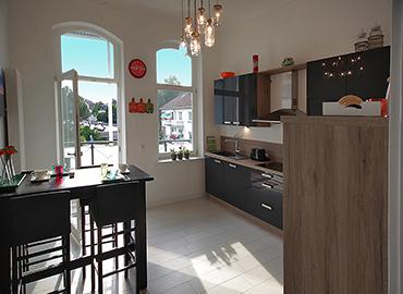 Die Küche in der bel étage