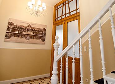 Das historische Treppenhaus