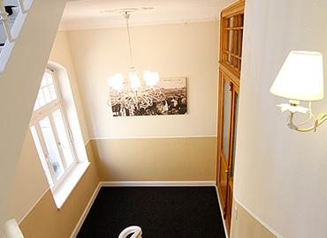 Das denkmalgeschützte Treppenhaus